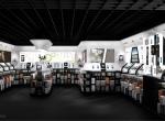 Aménagement 3D espace de vente interieur Avantgarde