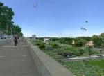 Perspective 3D la Coulée Verte à Carpentras - Après travaux
