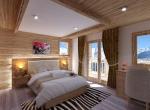 Chalet 3D Roc de Fer intérieur design à Saint-Martin-de-Belleville Savoie, une chambre
