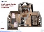 Plan-vente-3d-chalet-hermine-niveau-2