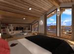 Perspective et réalisation 3D  intérieur de la Mezzanine B