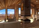 Perspective 3D HD du Salon