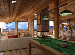 Perspective intérieur  Salon 3D