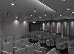 Vue d'intérieur en image de synthèse, salle de conférences 3D, Lyon