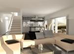Salon 3D, intérieur image de synthèse, studio 3D, Lyon