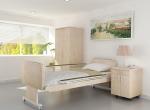 Chambre 3D vue 2  maison de retraite