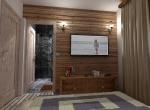 design chambre 3D, chalet La Blanche