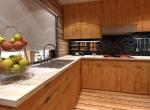 design cuisine 3D, chalet La Blanche