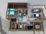garage 3D, chalet La Blanche