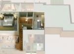 Plan de vente 3D, étage