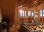 Design séjour 3D, vue 3