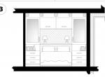 Chambre 1 plan d\'architecte, Chalet Roc de Fer