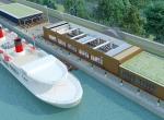 Yacht de prestige Liberty 3D, image de synthèse 3D