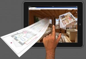 tablette demo visite virtuelle