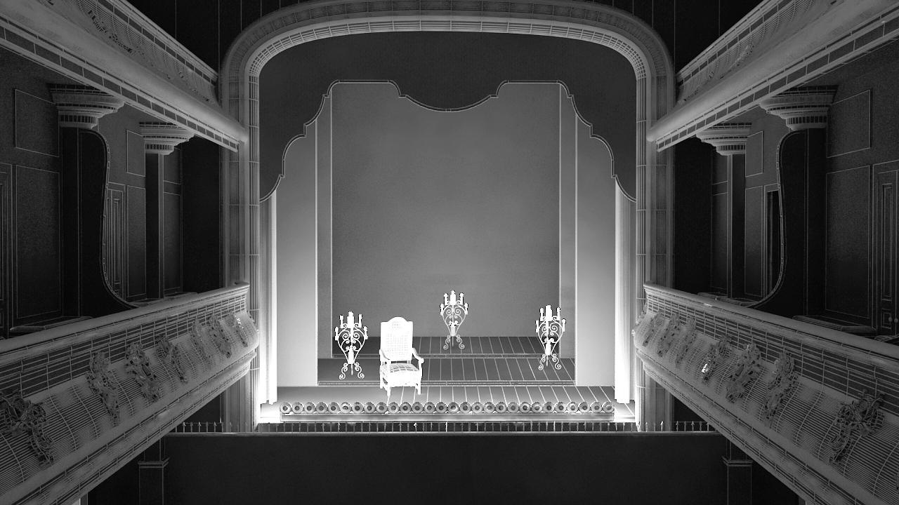 La scène 3D