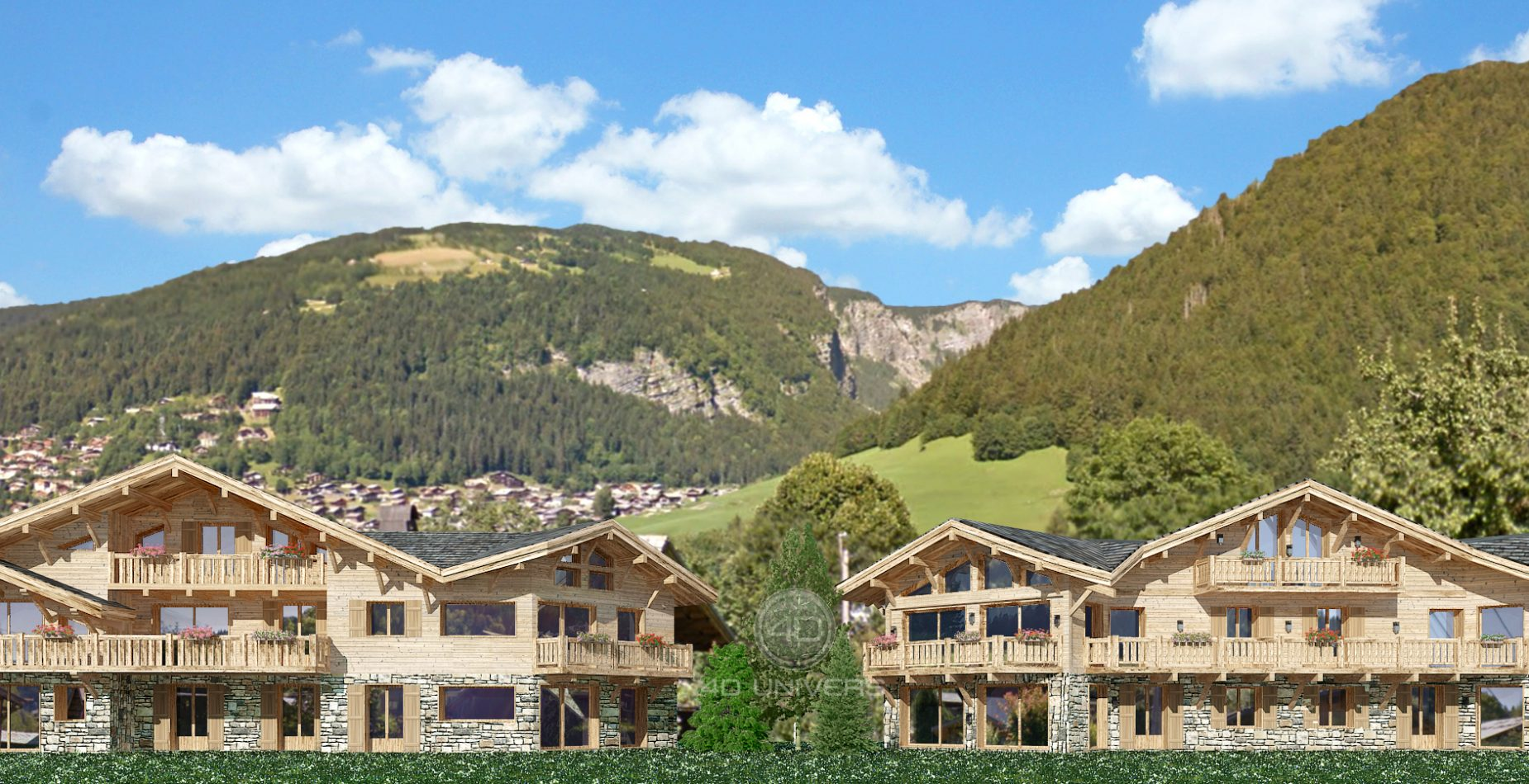 2-chalets