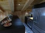 Intérieur vue, cuisine 3D, studio animation Lyon