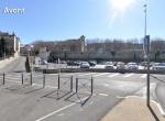 Le pont de l\'Auzon  - Perspective 3D la Coulée Verte à Carpentras - Avant travaux