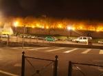Vue de nuit - Perspective 3D la Coulée Verte à Carpentras - Avant travaux