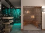 Réalisation 3D d\'un Sauna