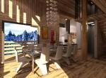 Création 3D du Salon \'Les Seuges\'