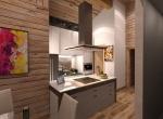Aménagement intérieur 3D du Salon \'Les Seuges\' à Combloux