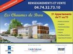 Résidence Les Chaumes de Brou, Programme Immobilière 3D
