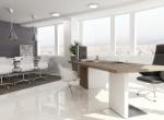 Bureau 3D animation, édifice 3D concept, Lyon