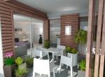 Loggia en 3D, aménagement en 3D, Rhône Alpes