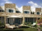 Maison 3D Coulomier, vue d\'exterieur 3D, Immobilier en image synthèse