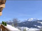 vue d\'extérieur 3D, chalet La Blanche