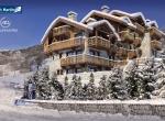 Programme immobilier Haute-Savoie, Perspectives 3D extérieur, Les Chalets du Nant Giraud