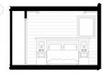 Chambre 2 plan d\'architecte, Chalet Roc de Fer