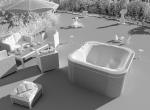 Rendu Spa de prestige, gamme Aqua Dolce en 3D