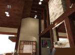 Chalet prestige 3D, image d'intérieur, Courchevel