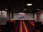 Cinéma 3D concept, Yacht de prestige, image de synthèse 3D